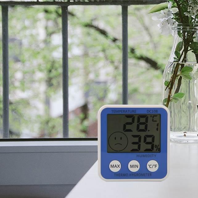 Оптимальным микроклимат в разных комнатах