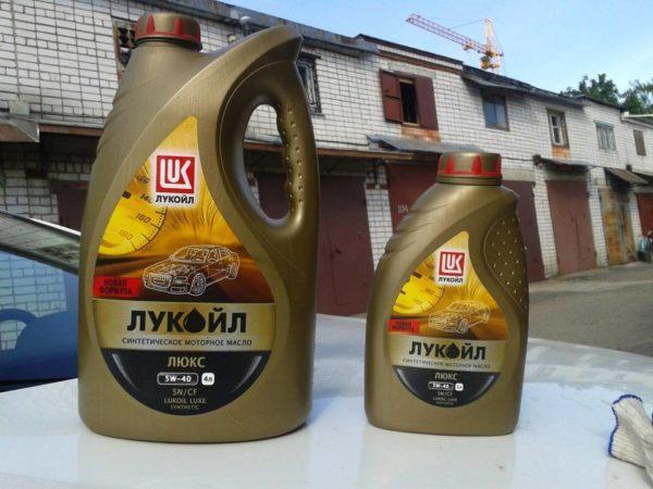 ЛУКОЙЛ Люкс синтетическое SN/CF 5W-40