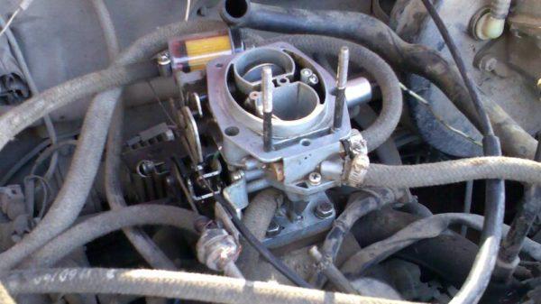 Отсутствие вакуума в автомобиле с карбюратором