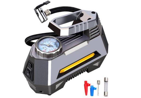 Электрический компрессор для накачки шин