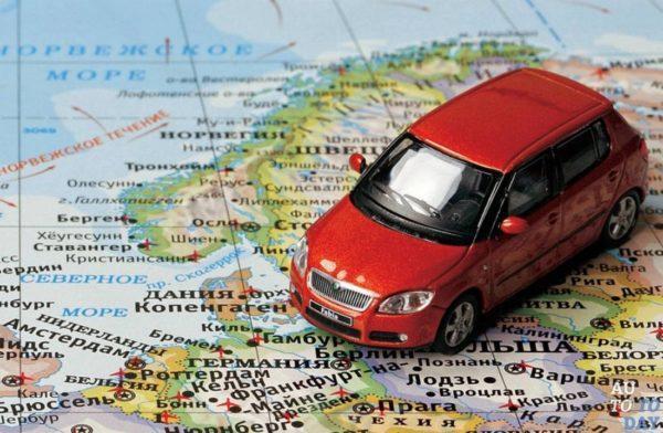 Вывоз автомобиля за пределы России