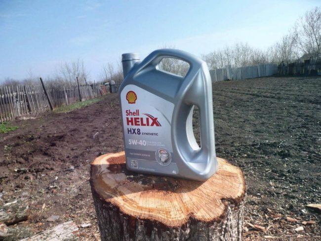 SHELL Helix HX8 Synthetic 5W-40